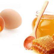 Яйцо и мёд – основные ингредиенты масок для волос