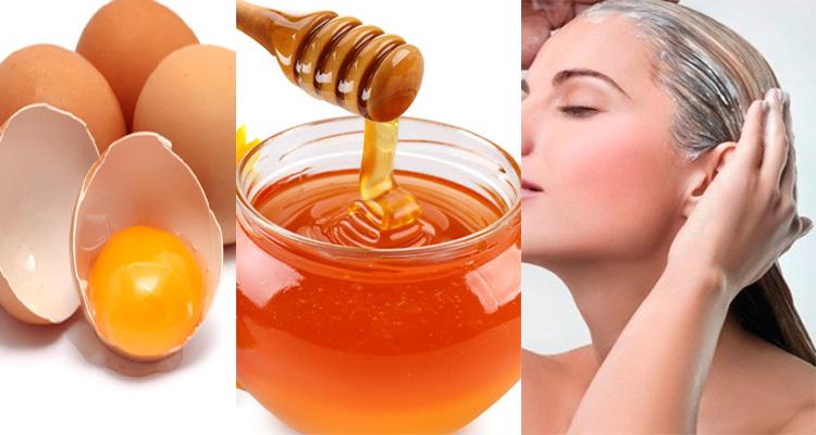 Маска на основе мёда и желтка