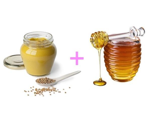 Горчица – как сильнодействующее средство в яично-медовых смесях