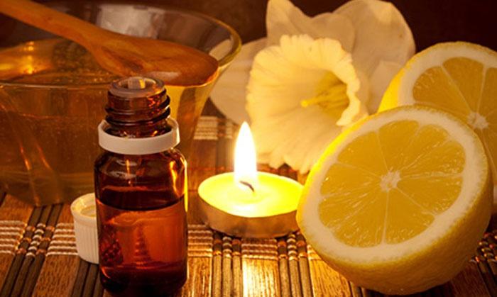 Маска на основе лимона и репейного масла с желтком