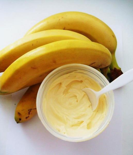 Как выглядит пюре из бананов