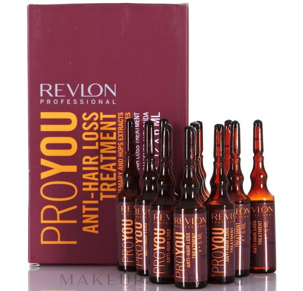 Компания Ревлон предлагает свои эффективные ампулы для восстановления волос