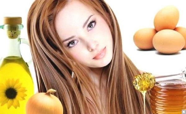 Сила волос в питательных масках