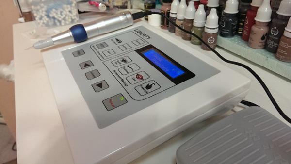 Как выглядит аппарат для нанесения татуажа