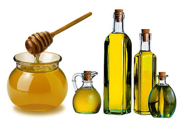 Маски с мёдом