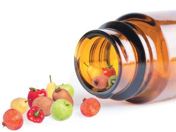 Таблетки и капсулы вполне могут заменить собой килограммы овощей и фруктов