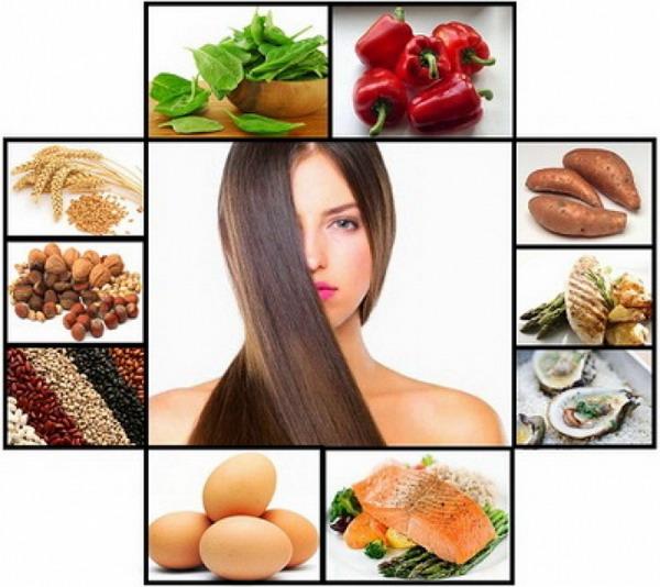 Чтобы шевелюра выглядела красивой, питание должно быть здоровым