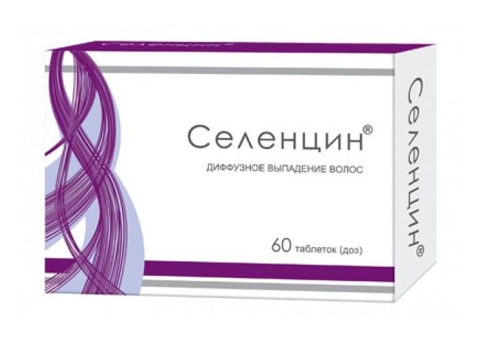 «Селенцин» – гомеопатическое средство от облысения для женщин и мужчин