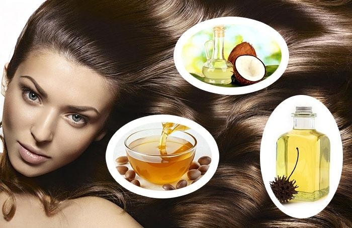 Сила волос в природных компонентах