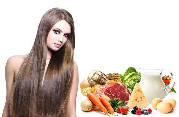 Сбалансированное питание укрепит пряди