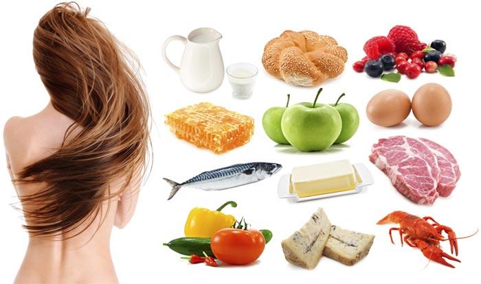 Рациональное питание – сила для роста волос