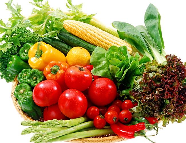 Овощи и фрукты – обязательные элементы сбалансированного меню