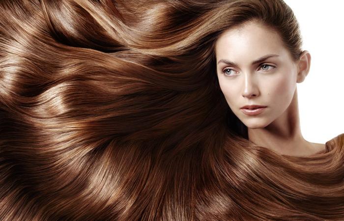 Итог правильно составленного меню – длинные, сильные и блестящие волосы