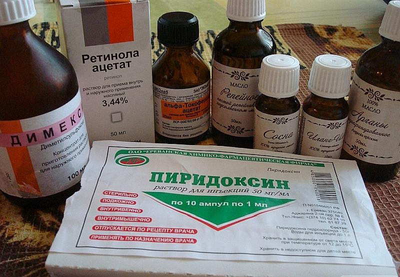 Витамины в жидкой форме