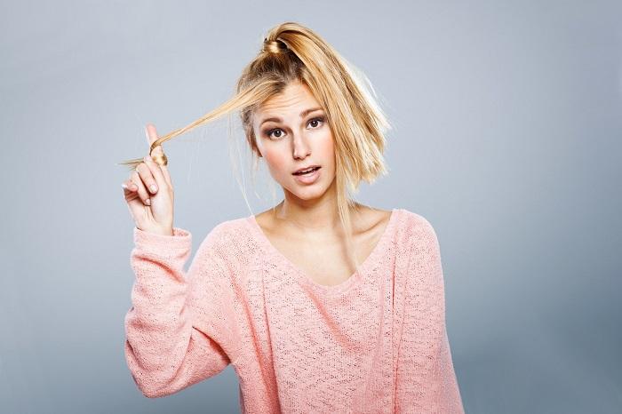 Если часто красить волосы, они быстро станут очень тонкими