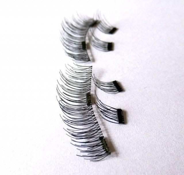 Некоторые виды магнитных ресниц