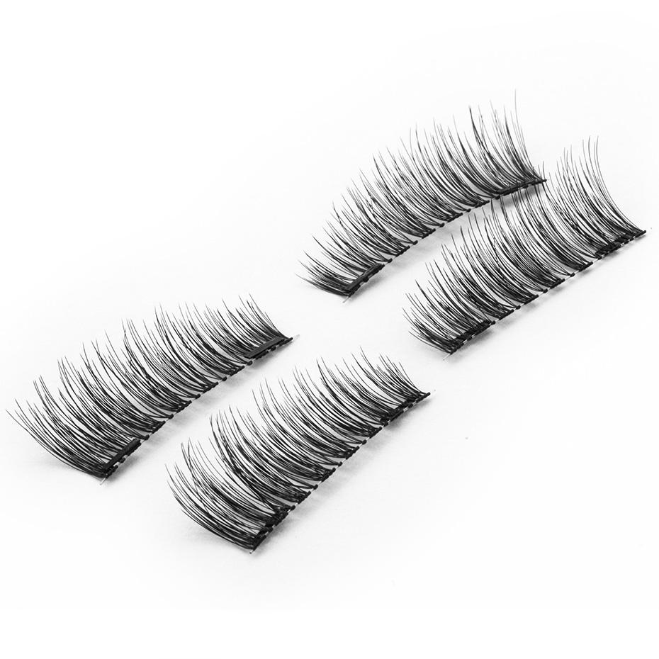 Накладные искусственные волоски на магнитах
