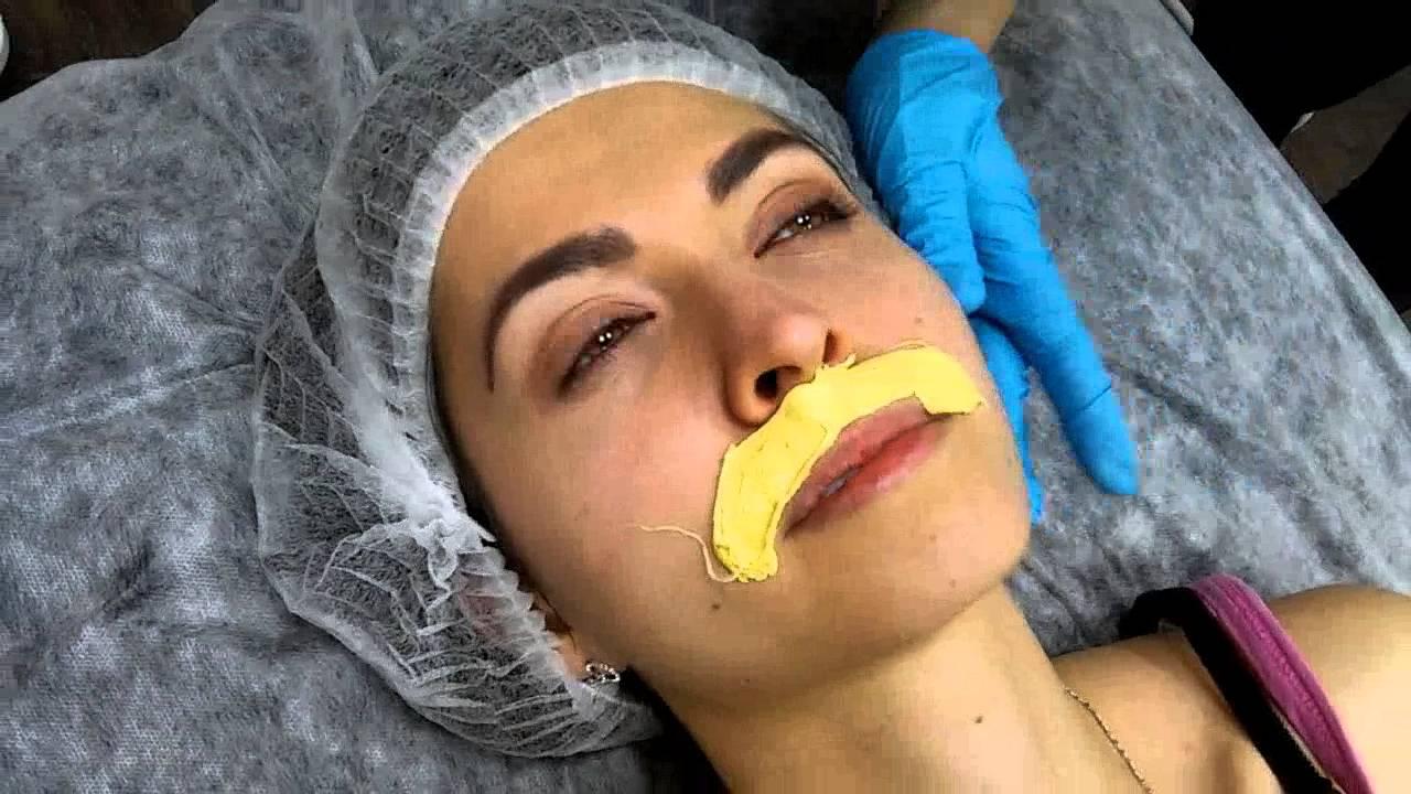 Воск для удаления волос на лице