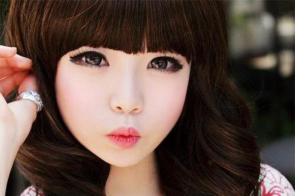 Кукольный макияж аниме