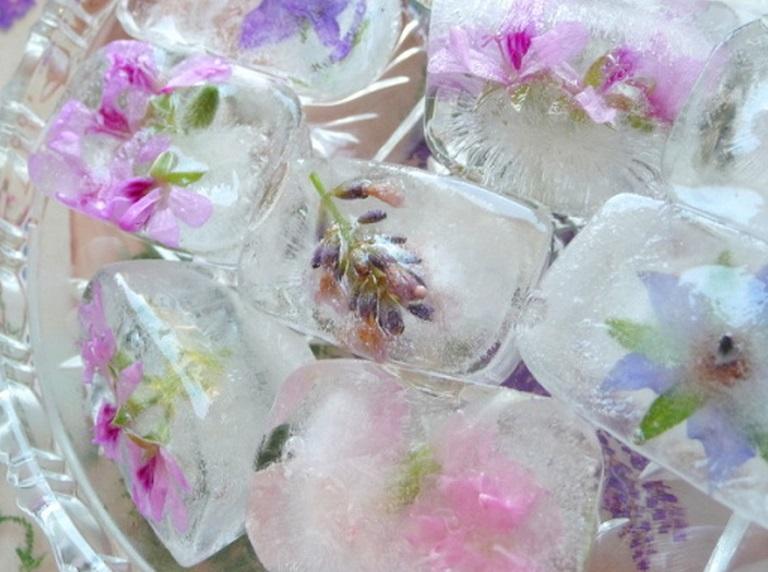 Лед на травах