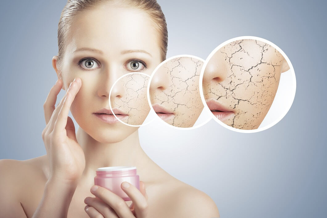 Сухая кожа становится причиной развития многих болезней