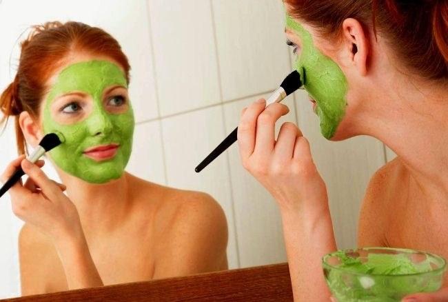 Эффективная маска из петрушки