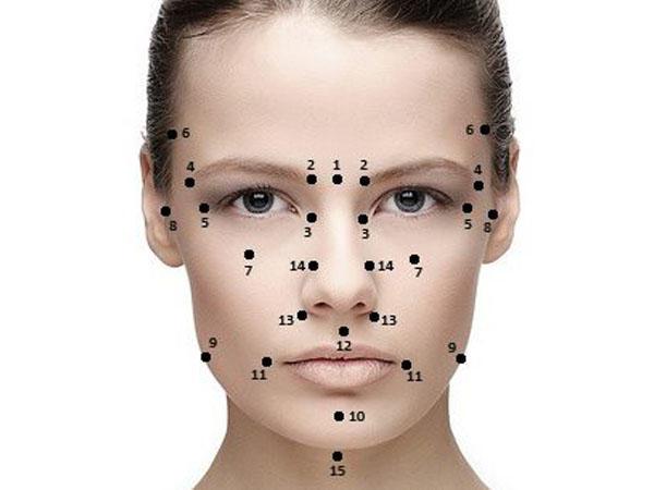 Массажные нажимания на эти точки способны омолодить и подтянуть лицо