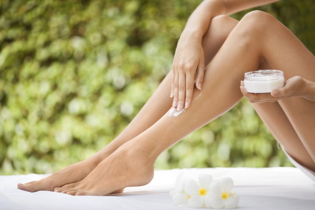 Увлажнение кожи после процедуры
