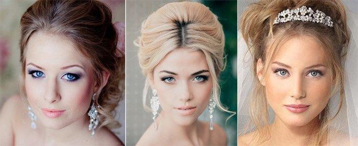 Примеры свадебного макияжа