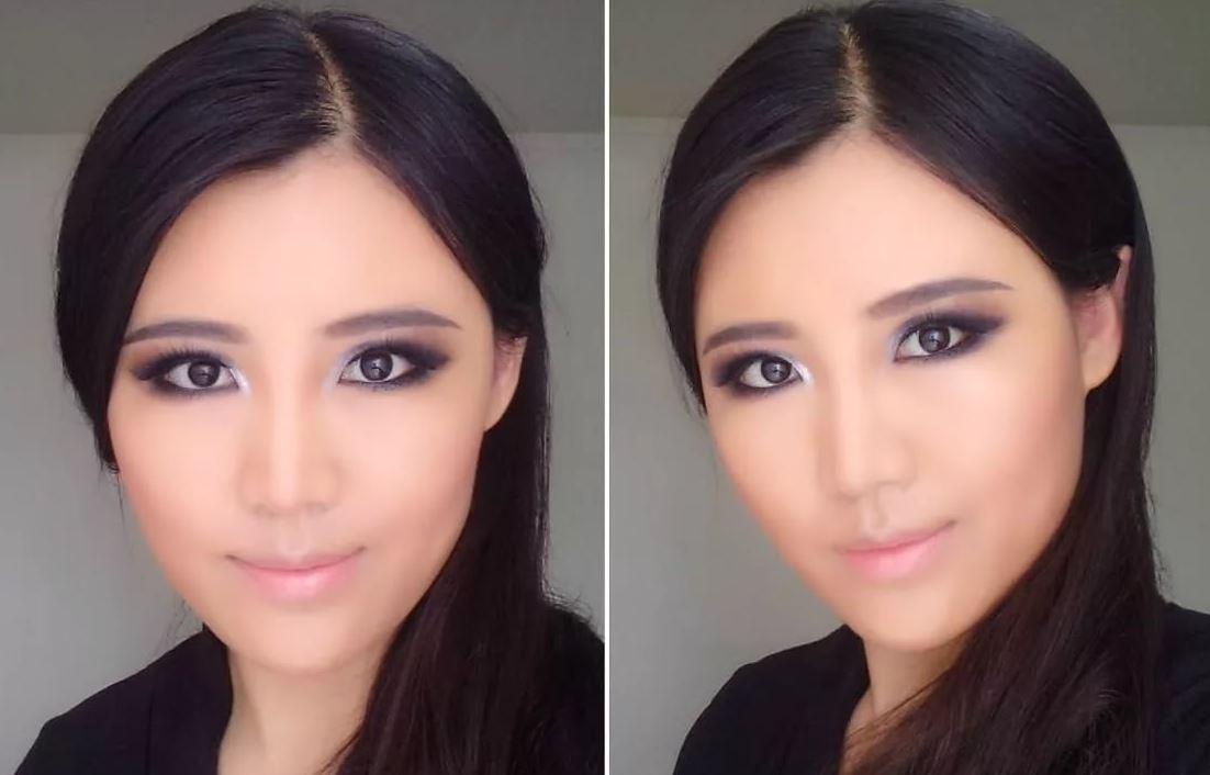 Стрелочный макияж для глаз с приподнятыми уголками