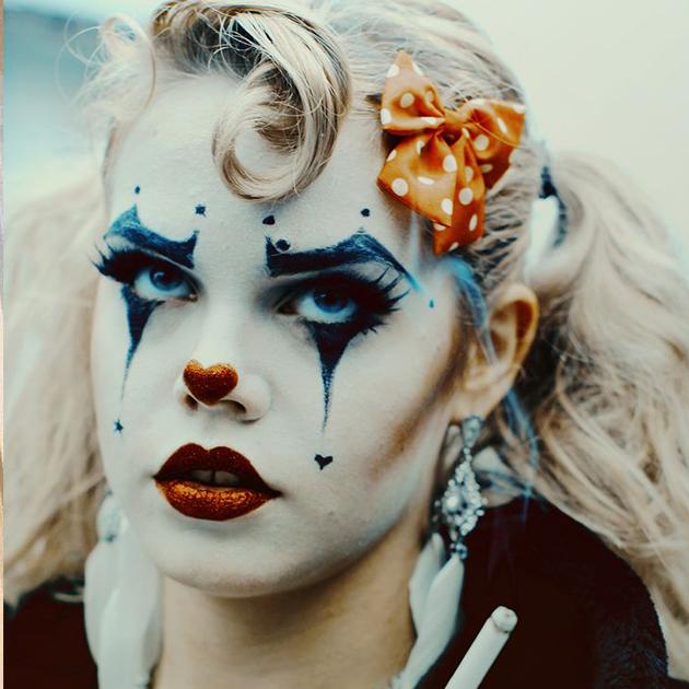 Клоун, женский образ