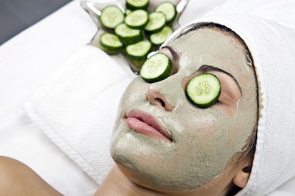 Огуречная маска – универсальное косметическое средство народной медицины от покраснения лица