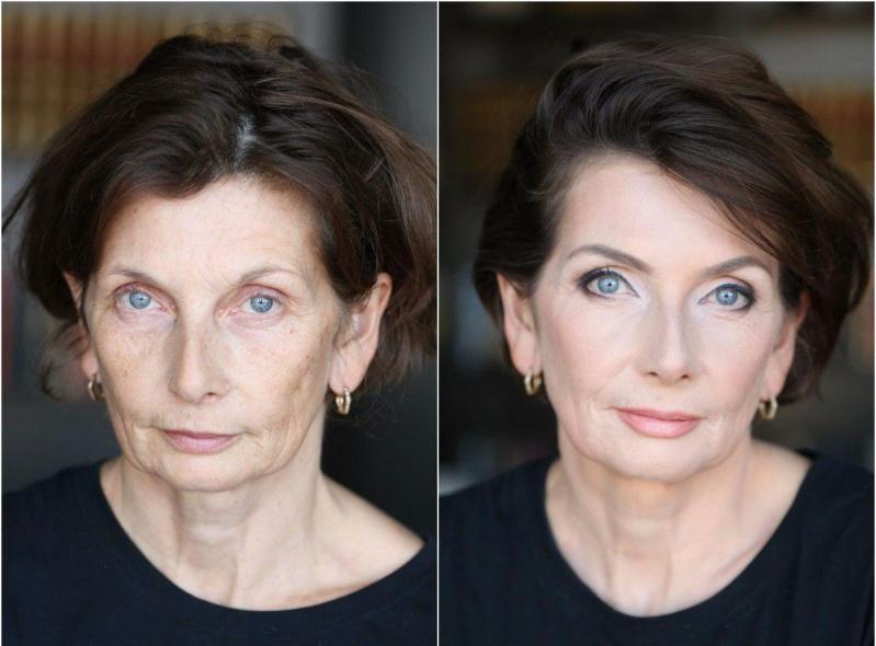 Лифтинг-макияж работает
