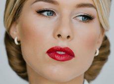 Пример голливудского макияжа