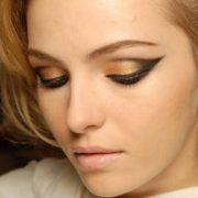 Золотой make up