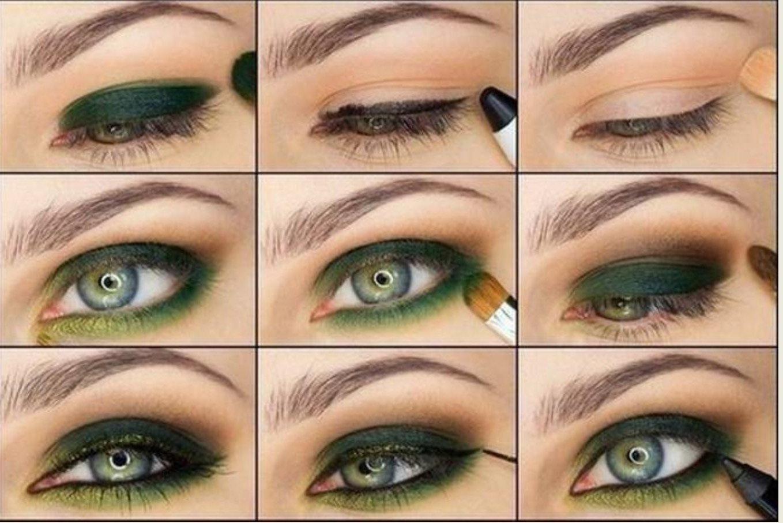 Красоту зеленоглазых девушек подчеркнет аналогичная цветовая палитра