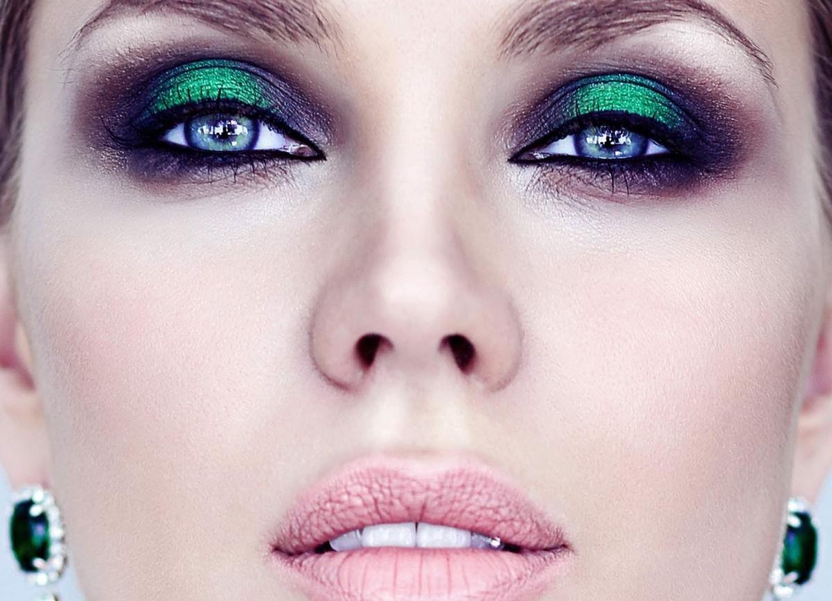 Яркий макияж всегда привлекает внимание