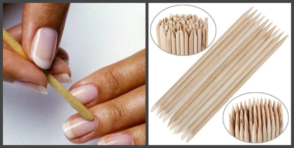 Апельсиновая палочка незаменима при уходе за ногтями