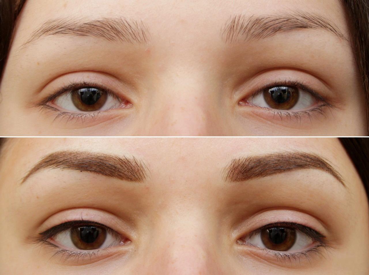 Результат пудрового нанесения, согласно показаниям косметолога