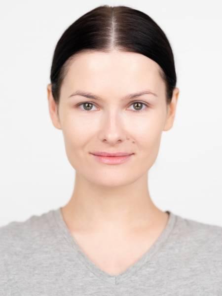 Вариант китайского макияжа для русской девушки до