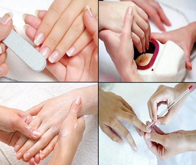 Процедуры укрепления ногтей в домашних условиях