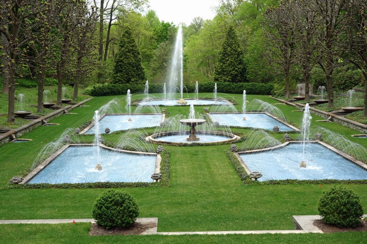 Экологичный озеленённый парк