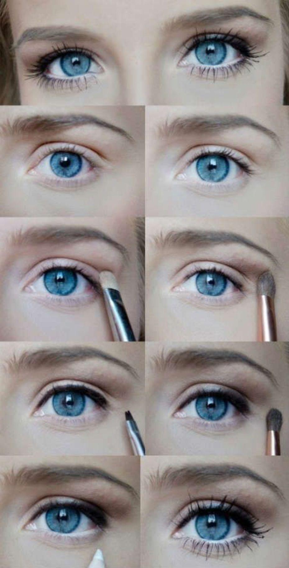 Естественный макияж – идеальный вариант для работы