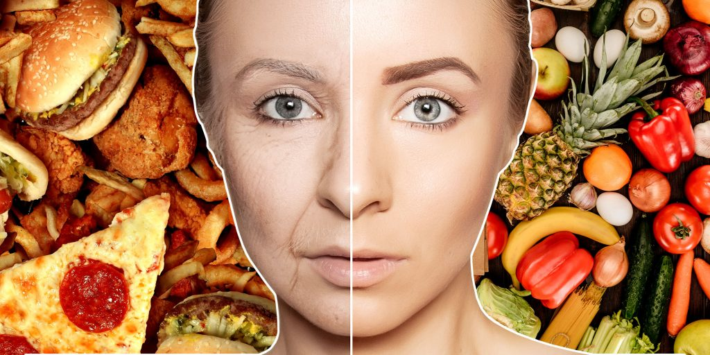 Рациональное питание сохраняет здоровье кожи