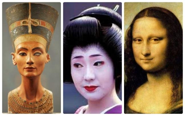 Красавицы разных эпох