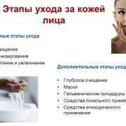 Основные этапы ухода за кожей лица