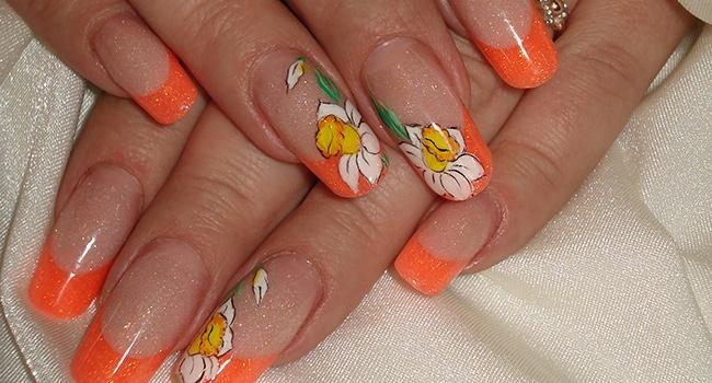 Дизайн наращенных ногтей