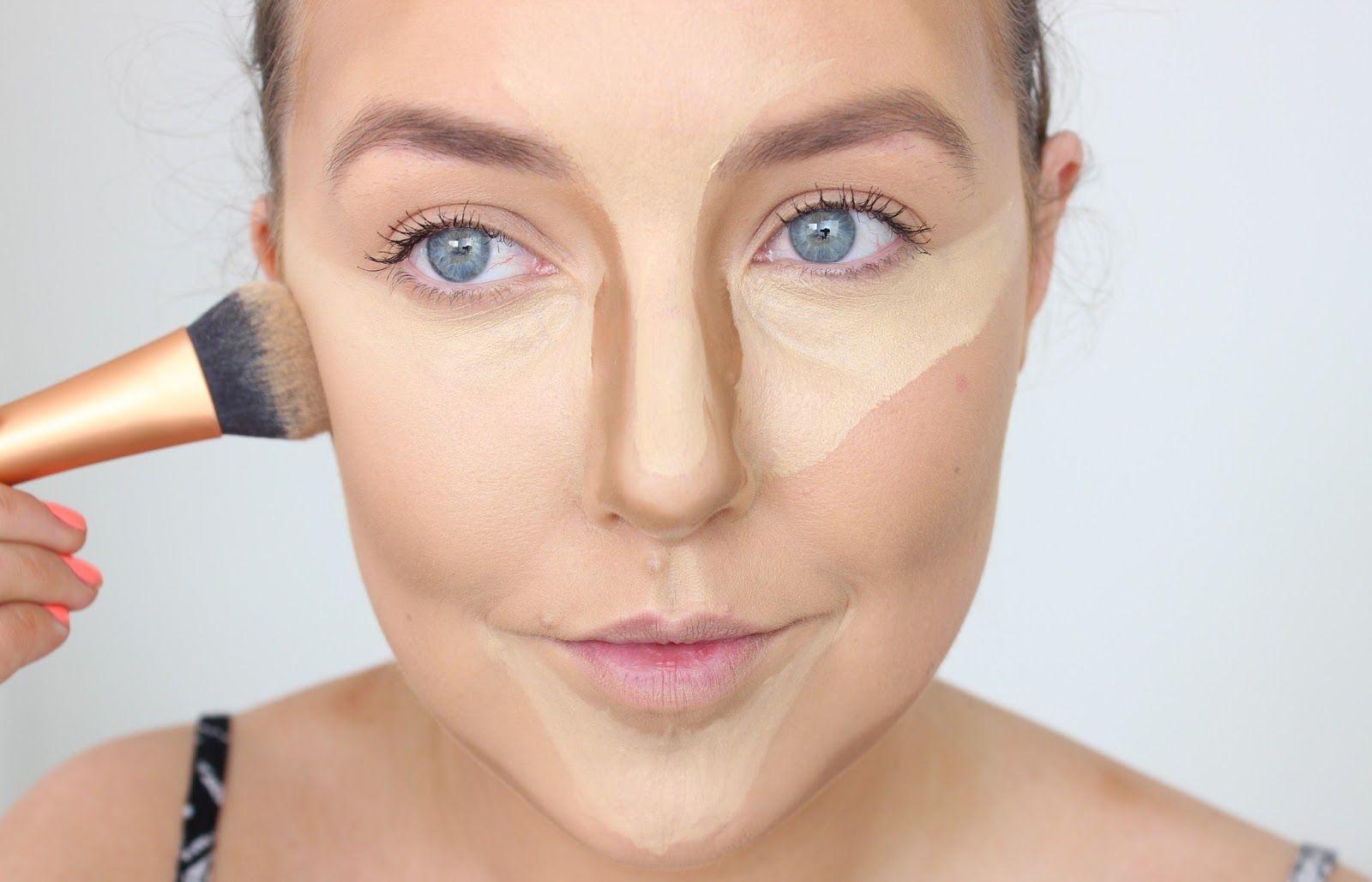 Растушевка – главный принцип коррекции формы лица