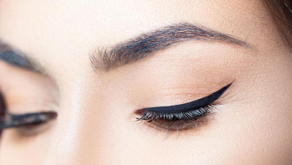 Вариант стрелки для глубоко посаженных очей