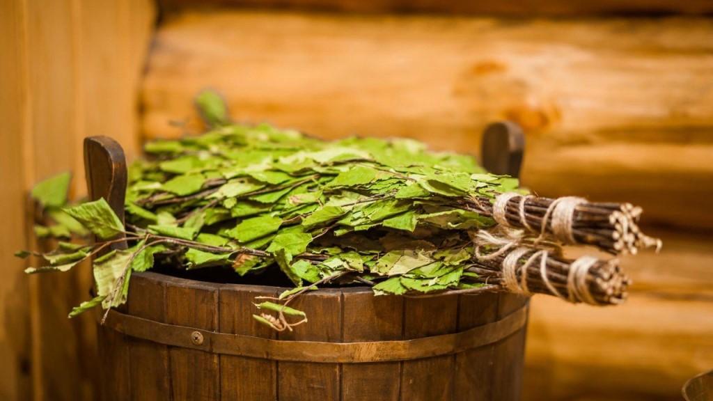 Использование берёзового веника в бане